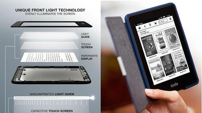 Amazon presenta un nuevo Kindle Paperwhite