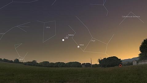 La Luna se aproxima a Venus y Saturno: consejos para no perdérselo