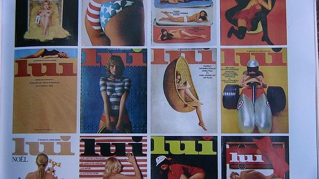 Renace el erotismo francés a través de las páginas de la revista «Lui»