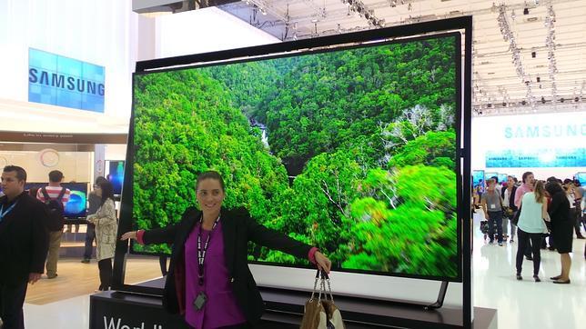IFA 2013: Samsung presenta un televisor 4K de 110 pulgadas