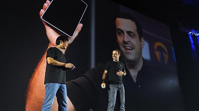 Barra junto al fundador de Xiaomi, Lei Jun