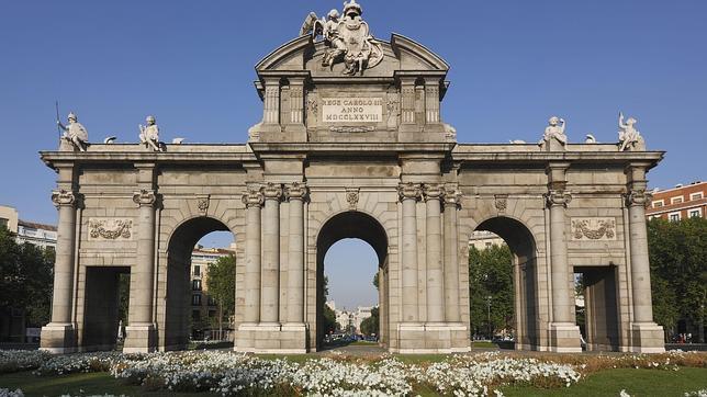 Madrid 2020 se conjura en la Puerta de Alcalá para una entrada triunfal de los JJ.OO.