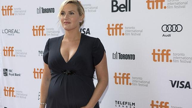 Kate Winslet presume de embarazo en Toronto
