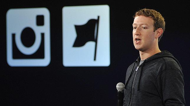 Mark Zuckerberg, durante una presentación de Facebook