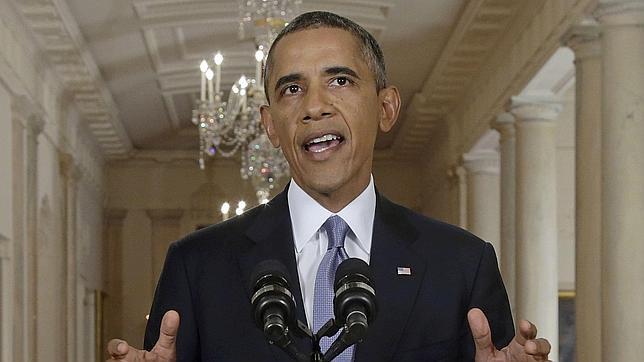 Obama acepta dar tiempo a la negociación de Siria, pero pide al Ejército que siga listo