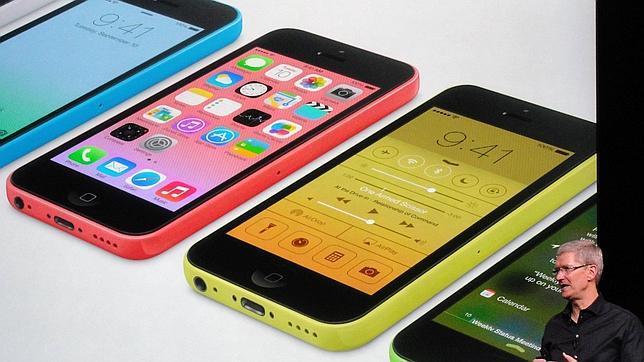El iPhone 5C no convence a los inversores y hace caer las acciones de Apple