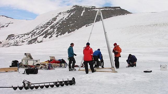 Formas de vida de hace 100.000 años aparecen bajo el hielo de la Antártida