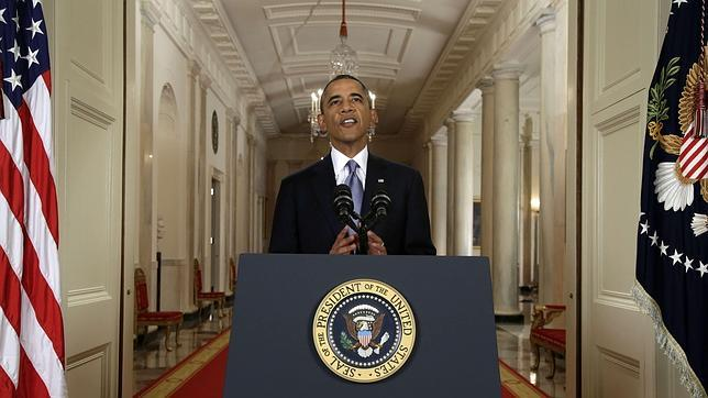 Las frases del discurso de Obama sobre Siria
