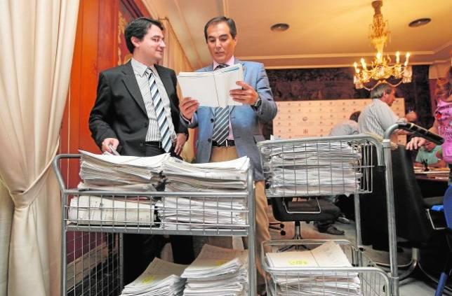 El Consistorio pide 2,1 millones en el plan de pago a proveedores
