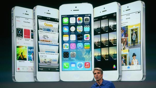 Las funciones del nuevo iOS 7 de Apple