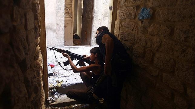 La ONU denuncia que los rebeldes sirios usan a niños soldado