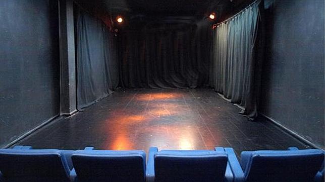 La sala de La Usina introduce al espectador en el espacio escénico