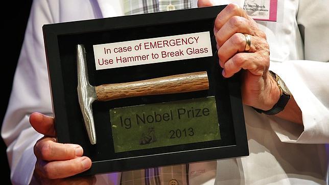 Ig Nobel 2013: las diez investigaciones científicas más absurdas del año