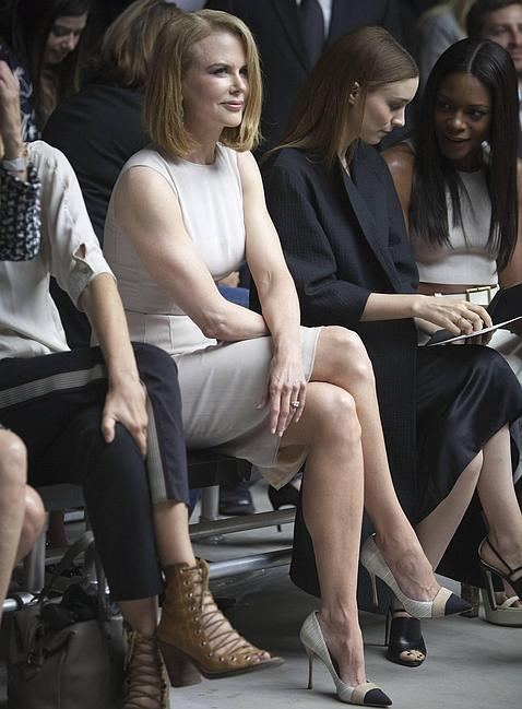 Nicole Kidman demandará al fotógrafo que la atropelló con la bici