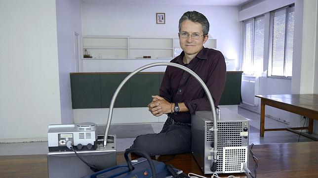 Laurent Begue, responsable de la investigación