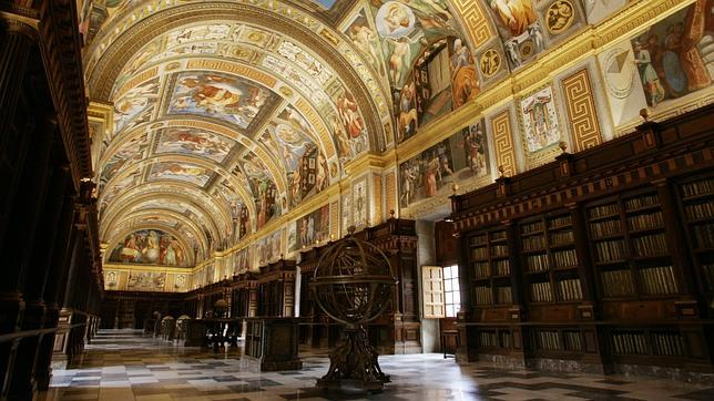 Biblioteca del monasterio