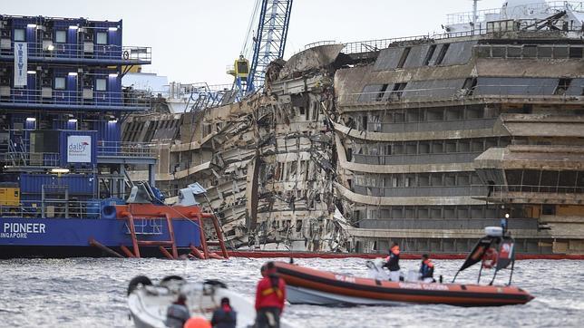 Hay muchos daños en el barco