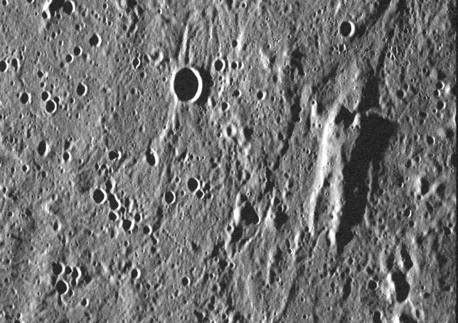 Un humanoide avistado en Mercurio