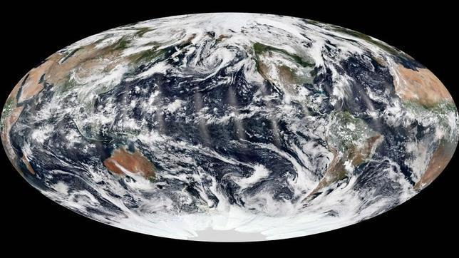 Un extraño momento de calma en la Tierra, fotografiado por los satélites