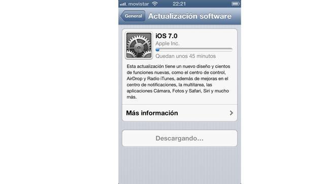 Problemas de conexión y de velocidad en la descarga del nuevo iOS 7