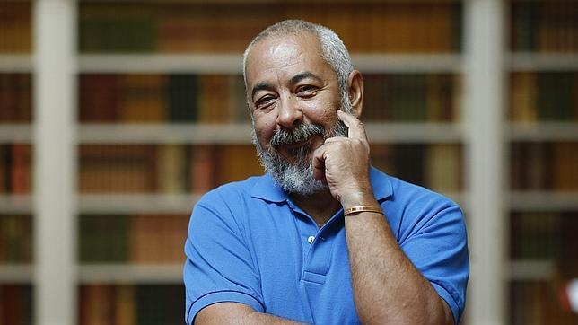 El escritor cubano Leonardo Padura, esta semana en Madrid