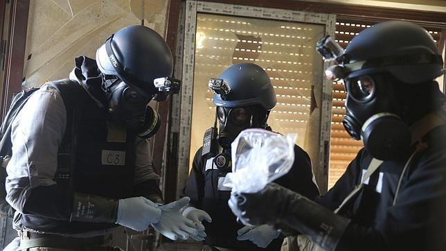 Cómo es un arsenal de armas químicas