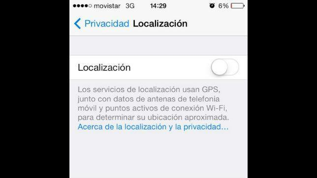 Cómo configurar la privacidad en el nuevo sistema operativo iOS 7