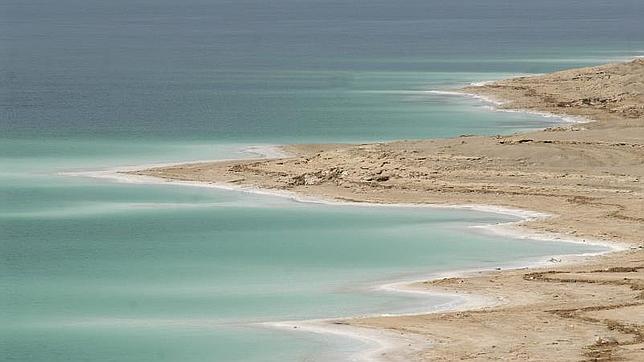 El Mar Muerto se seca a una velocidad de metro por año