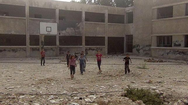 Más de 4.000 niños huyen solos de Siria