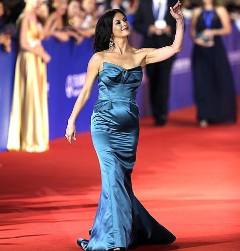 La indisimulable barriga de Catherine Zeta-Jones