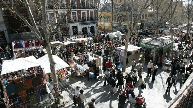 Siete mercadillos tradicionales de madrid - Mercadillos madrid capital ...