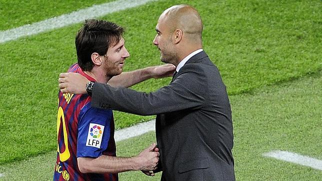 Cuando Messi desafió a Guardiola