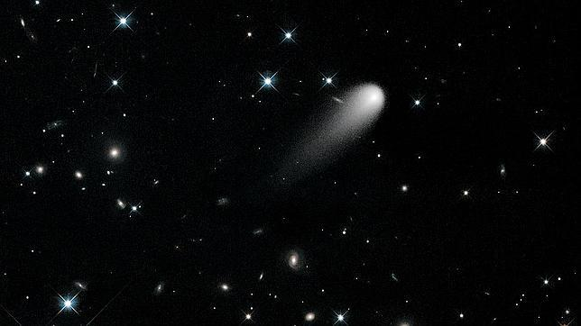 Los astrónomos, pendientes de la llegada del cometa Ison