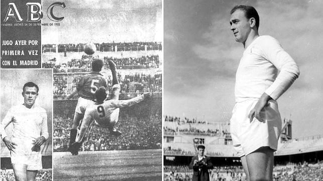 Grandes momentos del debut de Di Stéfano con el Real Madrid
