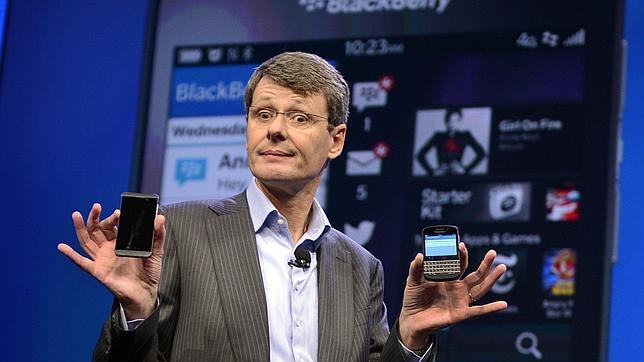 El CEO de Blackberry ganará 55 millones de dólares si vende la compañía