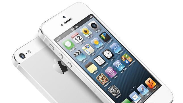 El iPhone 5, el «smartphone» con la pantalla más rápida