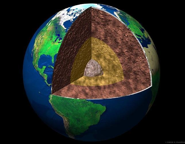 Viaje matemático al centro de la Tierra