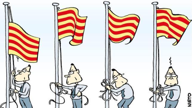 Cataluña independiente: día uno
