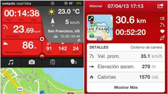 Las diez mejores aplicaciones móviles para hacer rutas en bici