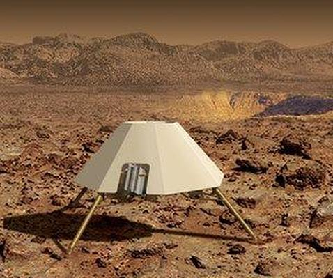 Un robot saltarín para explorar Marte