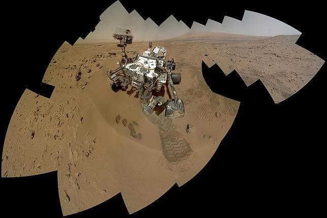 El Curiosity halla agua abundante en la superficie de Marte