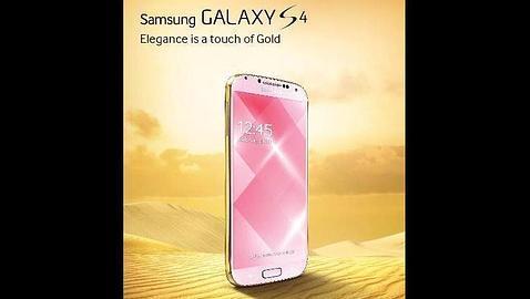 Samsung sigue los pasos de Apple y lanza un Galaxy S4 dorado