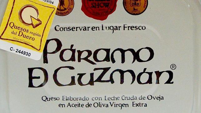Queso en aceite de oliva Páramo de Guzmán