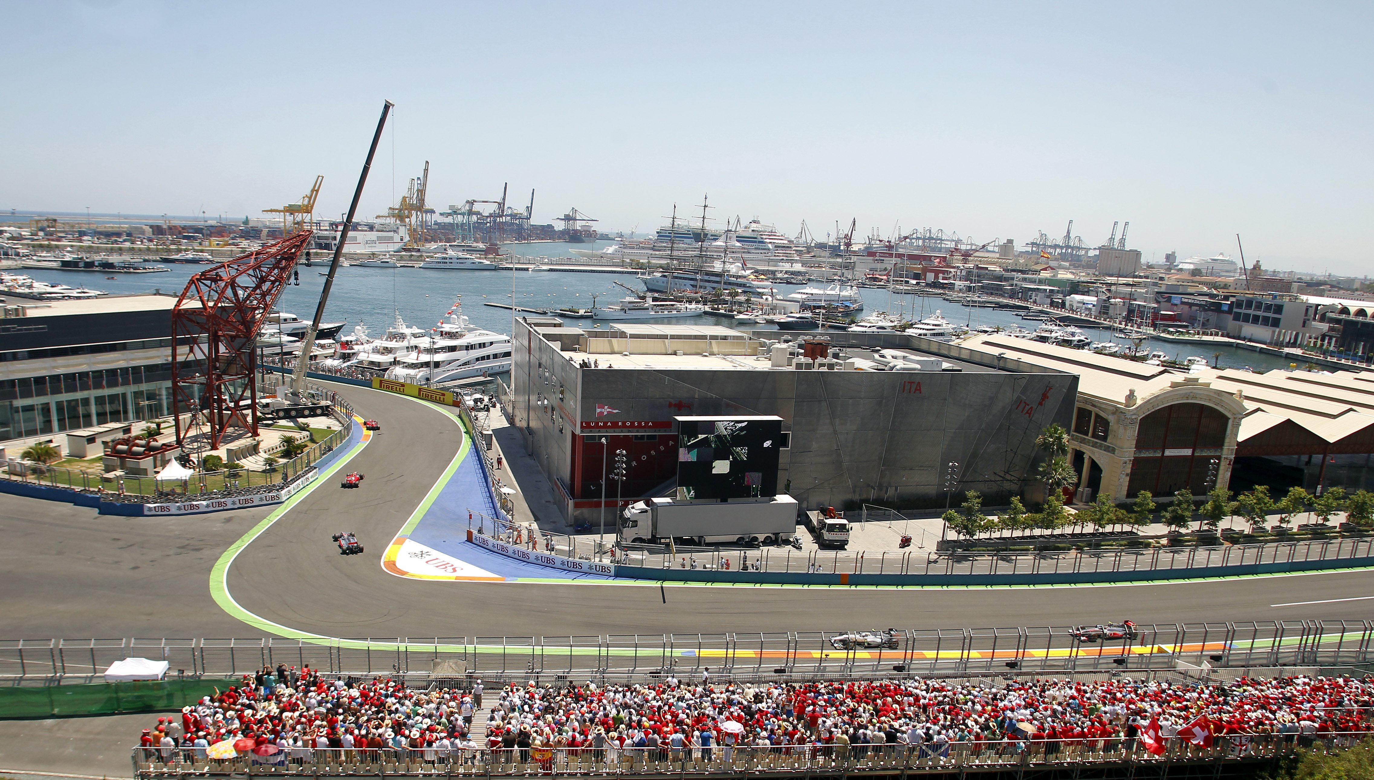 Circuito Valencia F1 : La generalitat sigue a la espera de que se concrete el circuito