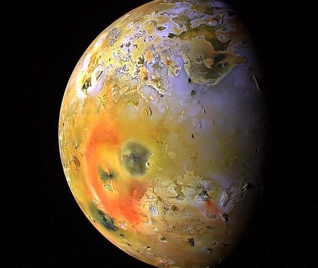 Resultado de imagen de Io luna de Júpiter