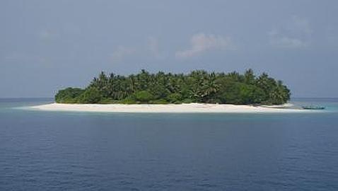 Una nueva isla puede surgir en las Maldivas