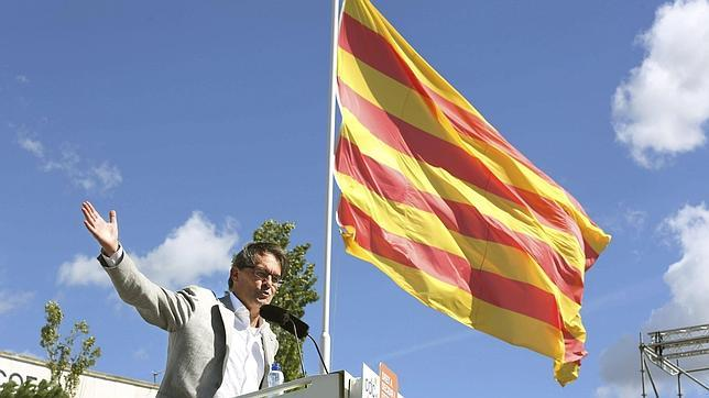 Mas: «Si la gente vota libertad, Cataluña será libre»