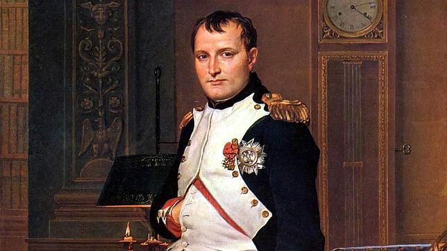 El retrato de Napoleón Bonaparte pintado por Jacques-Louis David
