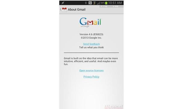 Google añadirá publicidad a su Gmail para Android