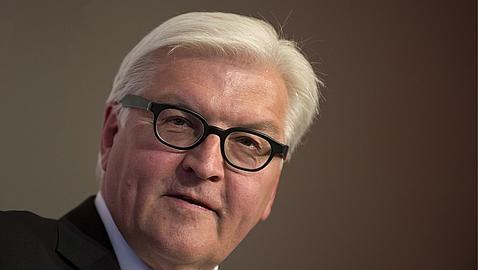 El exministro de Exteriores Frank-Walter Steinmeier